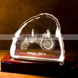 Lighted Photo Crystal Panel, Crystal Iceberg Photo Frame, Glass Picture Frame For Souvenir Gifts                                                                         Quality Choice