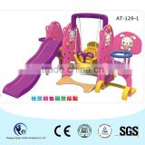 Home use sweet purple swing and slide combined for your baby girls!                                                                         Quality Choice