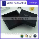 Black cardboard foldable Heaven and earth boxes,paper box with All kinds of high-end gifts,packaging boxes