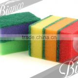 New Arrival Standard Stock for Bulk Supplier 2 in 1 Scouring Sponge at Cheap Price