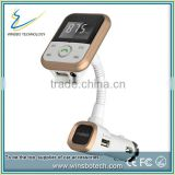 Newest 4 in one Aux-in USB Charger SD Card Hands free Bluetooth FM Transmitter Used in Car