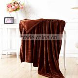high quality faux fur blanket,soft hand feeling, beautiful solid color design