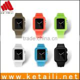 New Product for Silicone Apple Smart Watch with Bluetooth Case for Apple Mobile i Watch for Apple Time Watch