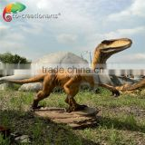 Life size dinosaur statues for dinosaur exhibition