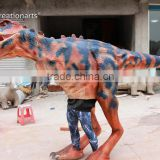 Walking robotic lifelike adult dinosaur costume