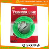 Grass Cutter Replacement Parts 15m Length Star Shape Nylon Grass Trimmer Line Grass Cutter Nylon Line With Blister Card