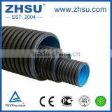 PN5/SDR33 hdpe double wall corrugated pipe                                                                         Quality Choice