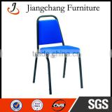 Modern Blue Metal Dining Chair For Sale JC-G62