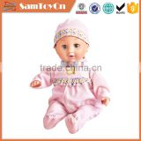 15 inch girl toys stuffed real baby dolls with IC