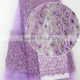 Clothing factories in china for making Tulle lace/China alibaba machine embroidery lace/Beaded tulle fabric for wedding