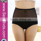 Wholesale Mature Women Panties High Waist Panties Sexy Lace Folral Briefs                                                                         Quality Choice