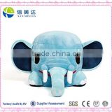 Funny Stuffed Elephant Play Chair For Baby Sitting