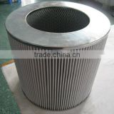 China supplies for large size air take filter,Pleated filter material cotton filter,cartridge filter