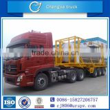 20ft DTA OEM YELLOW PHOSPHORUS TRANSPORT VEHICLE TANK TRUCK TRAILER FOR SALE