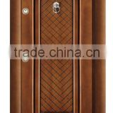 Turkey steel wooden armored door with adjustable frame