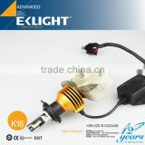 EKLIGHT Smart System TUV/CE/ROSH/Emark Approved H4 H7 H11 9005 H13 Car h4 led headlight 100w