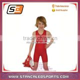 Stan Caleb cheap lycra girls wrestling singlet suit uniform custom design Athletic Apparel for youth