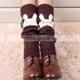 Handmake colorful wedding keep warm socks noble and charming Over-the-knee socks
