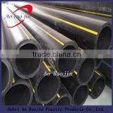 PE100 Polyethylene Natural Gas Supply Pipe