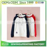 Factory Price Raglan Sleeve Wholesale Hoodies Women hoodies with custom printed logo