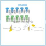 Plastic Security Meter Seal GC-M003 with 0.68 mm ss wire