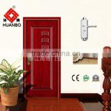 Cheap price fancy design solid timber composite wooden door interior doors with hardware