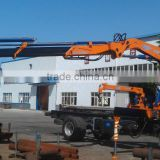 8ton knuckle boom Crane and Accessories,SQ160ZB4, hydraulic truck mounted crane.