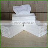white facial tissue with transparent plastic bag tender feeling