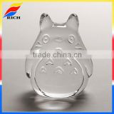 Lovely totoro blank glass paperweight