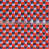 High strength carbon kevlar red fabric decoration use