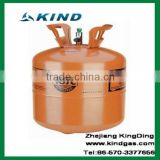2015 high quality 11.3kg/25lbs disposable cylinder packing refrigerant gas r407c for sale