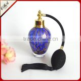 Wholesale handmade luxury air bag glass perfume bottle , Custom gasbay spray pump glass perfume bottle 70ml