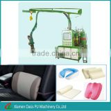 pu foam machine for making memory foam lumbar cushion,back rest pillow,back pain relief car seat cushion