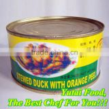 Canned Stewed Duck with Orange Peel
