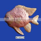 Terracotta clay tropical ornamental fish