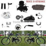 2 stroke 66cc Motorised Push bike bicycle engine kit/ Petrol Motorized bicycle engine/gas scrooter