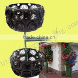 SOL best-selling hanging basket wholesale plastic flower pots indoor outdoor hanging planters