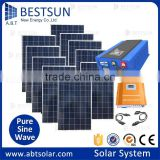 BESTSUN 10kw China solar energy Supplier high efficiency solar panel system China factory price with flexible solar modules