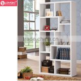 2016 new Home furniture Casual Bookcase for home decoration MDF solid wood cube bookshelf wholesale