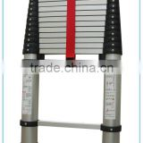 Casing telescopic aluminum extension ladder for emergency