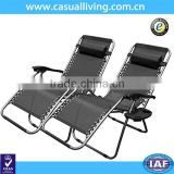 Pool Patio Outdoor Lounge Chairs With Cup Holder