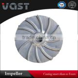 OEM lined slurry pump impeller/pump impellers castings