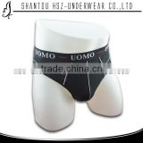 hsz-1105 high quality cotton men sexy underwear OEM service men cheap boxer briefs sexs men hot panties