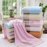 Cheap Promotional 100% Cotton Luxury Hotel Bath Towel white home bath towel soft touch custom
