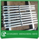 Guangzhou factory steel barrier fence ball joint stanchion for wharfs