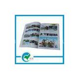 1 - 4C(CYMK) Color  Commercial Glossy Paper Custom Catalog Printing, Looped String Binding