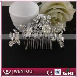 Comb Silver Rhinestone Crystals Wedding Hair Accessories Bridal Hair Jewelry