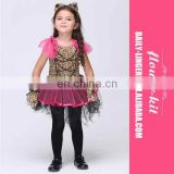2015 New Arrival Girls Halloween Performance Costume Princess dress for kids
