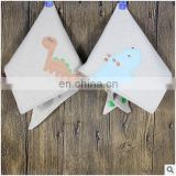 Cute Cartoon Printed Letters Baby Bibs Newborn Cotton Soft Triangle Scarf Bib Saliva Towel Toddler Burp Clothes