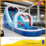 AOQI products hot seller inflatable water slider with free EN14960 certificate